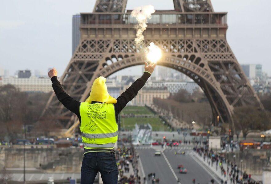 gilets jaunes, Frankreich